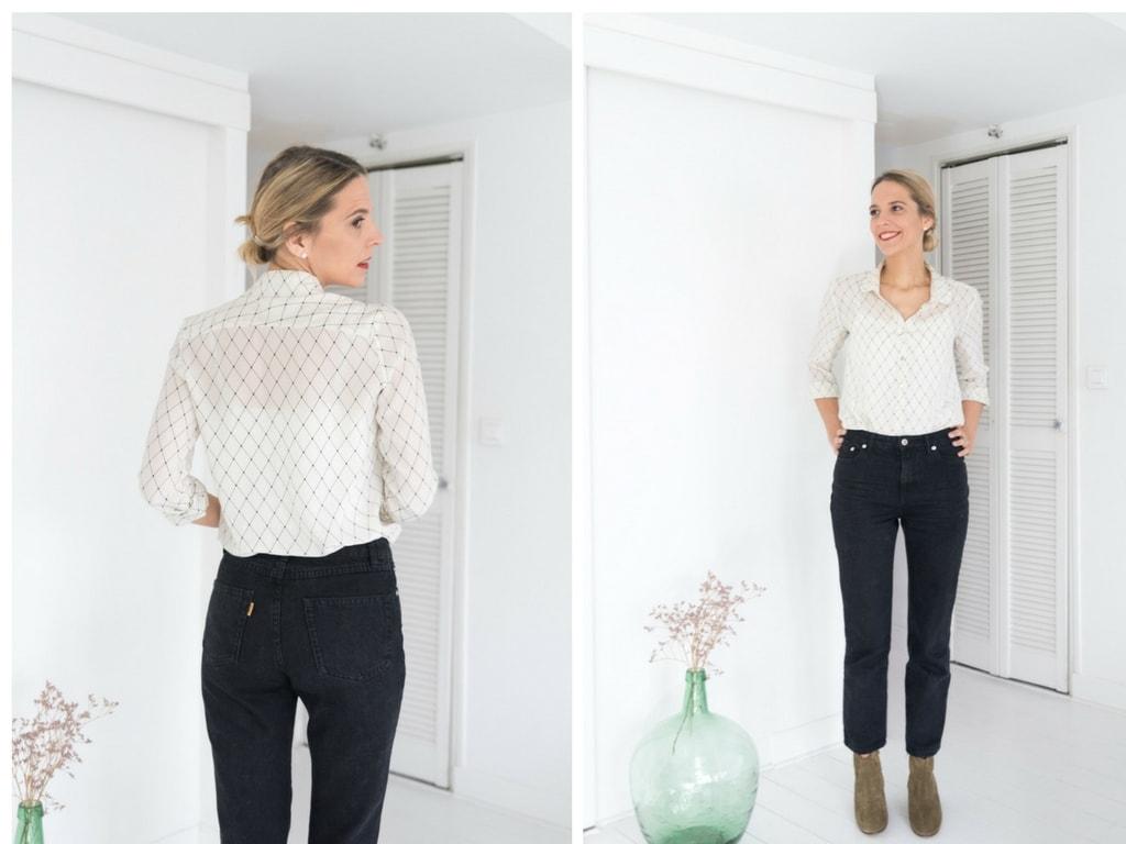 le jean d contract mon jean rouje par jeanne damas le dressing id al. Black Bedroom Furniture Sets. Home Design Ideas