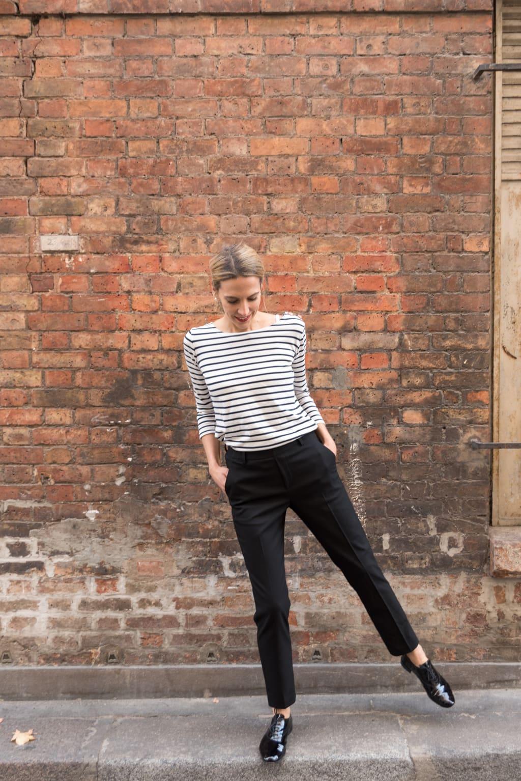 choisir le dernier chaussures de tempérament construction rationnelle Le pantalon smart ou pantalon de smoking - Le Dressing Idéal