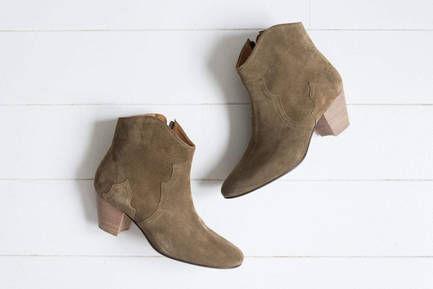 Les boots Dickers d\u0027Isabel Marant sont pour moi les boots idéales. J\u0027en ai  rêvé si longtemps ! Elles sont tellement parfaites qu\u0027elles m\u0027ont tapé dans