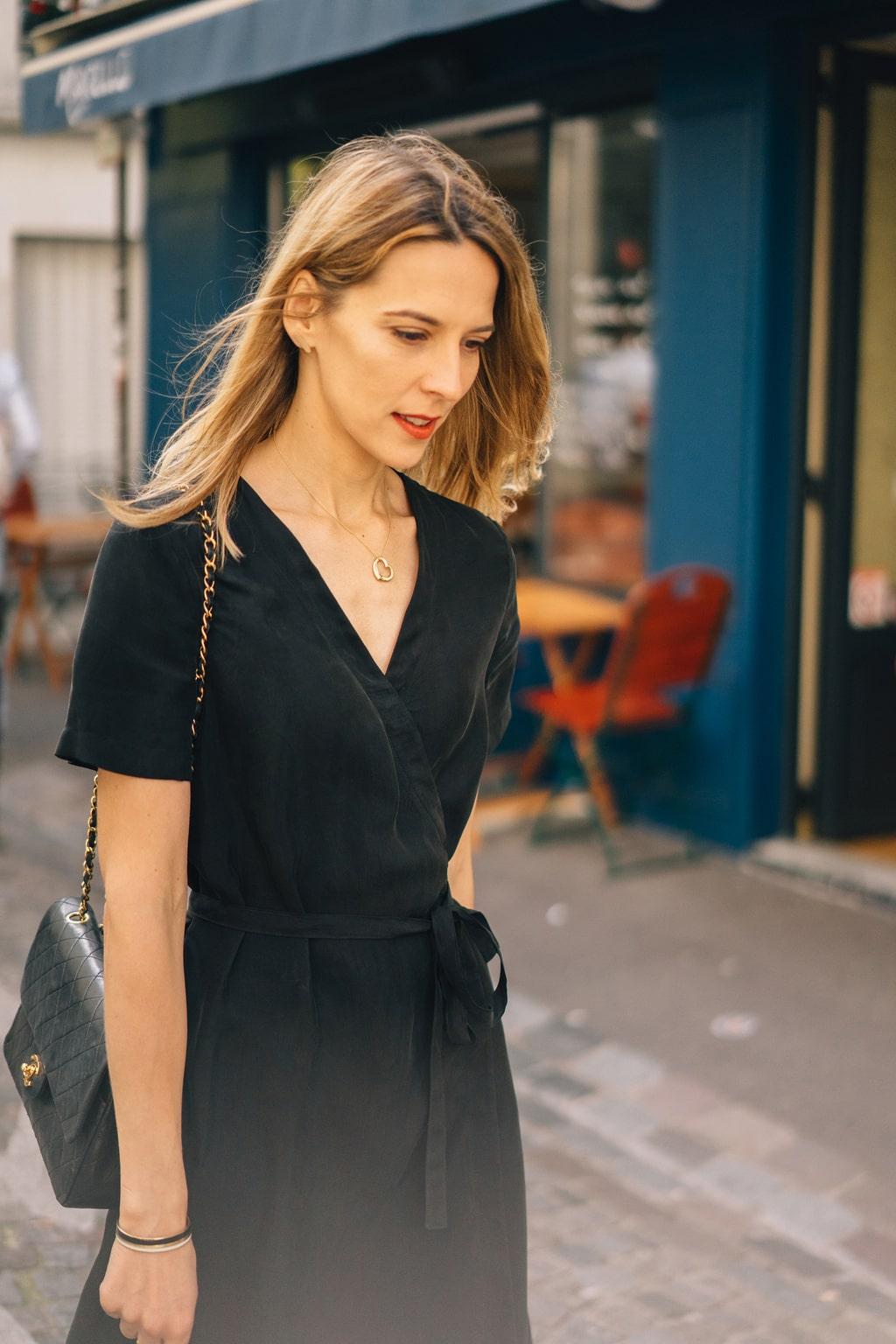 la petite robe noire qui vous sublime le dressing id al. Black Bedroom Furniture Sets. Home Design Ideas