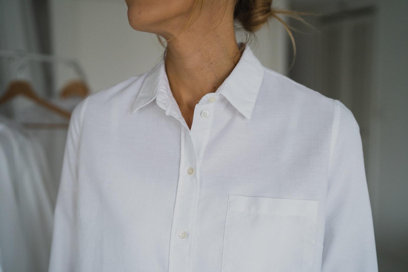 8e03e95ed35 Trouver la chemise blanche idéale   8 marques au banc d essai - Le ...