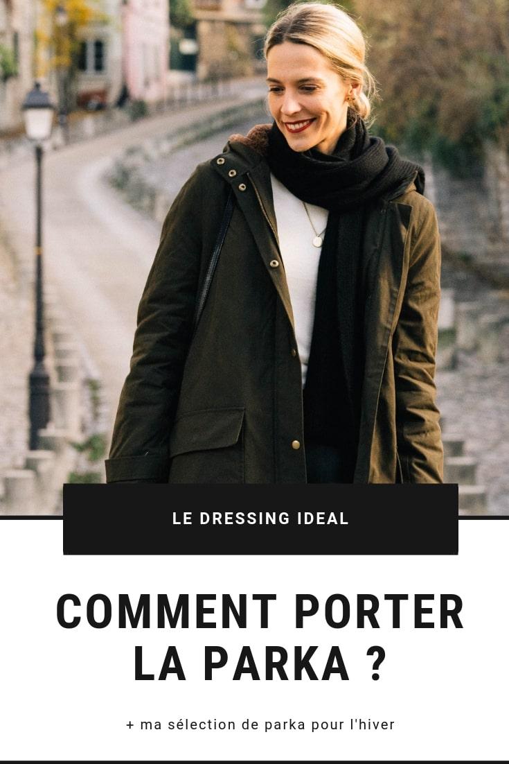 Comment porter la parka   - Le Dressing Idéal 9a8e25adba1