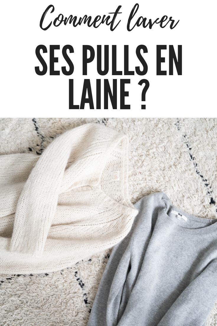 Comment laver et prendre soin de ses pulls en laine ou en