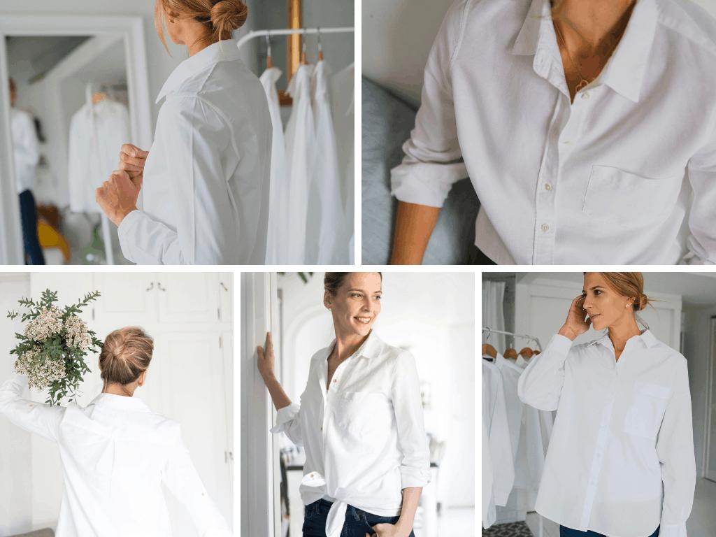 94d5b3c0a1df La chemise blanche est une valeur sûre de la garde-robe. Empruntée au  vestiaire masculin